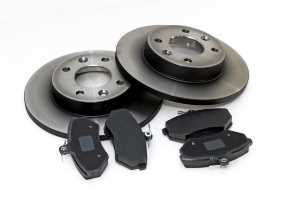 brake rotors and pads